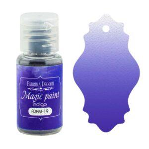 DRY PAINT MAGIC PAINT INDIGO 15ML