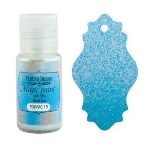 DRY PAINT MAGIC PAINT WITH EFFECT BLUE ICE 15ML