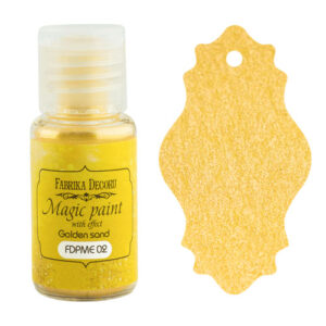 DRY PAINT MAGIC PAINT WITH EFFECT GOLDEN SAND 15ML